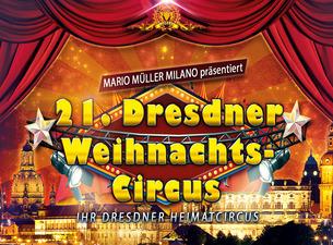 Headliner in het grote kerstcircus van Dresden