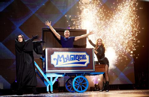 Magic spektakel bij Gabbers